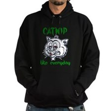 High Stoned Catnip Cat Hoodie