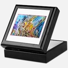 Fish, tropical, art, Keepsake Box