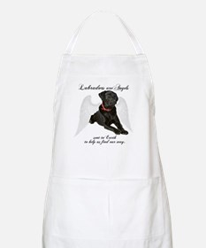 Black Lab Angel Apron