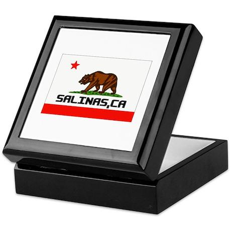 Salinas, Ca -- T-Shirt Keepsake Box