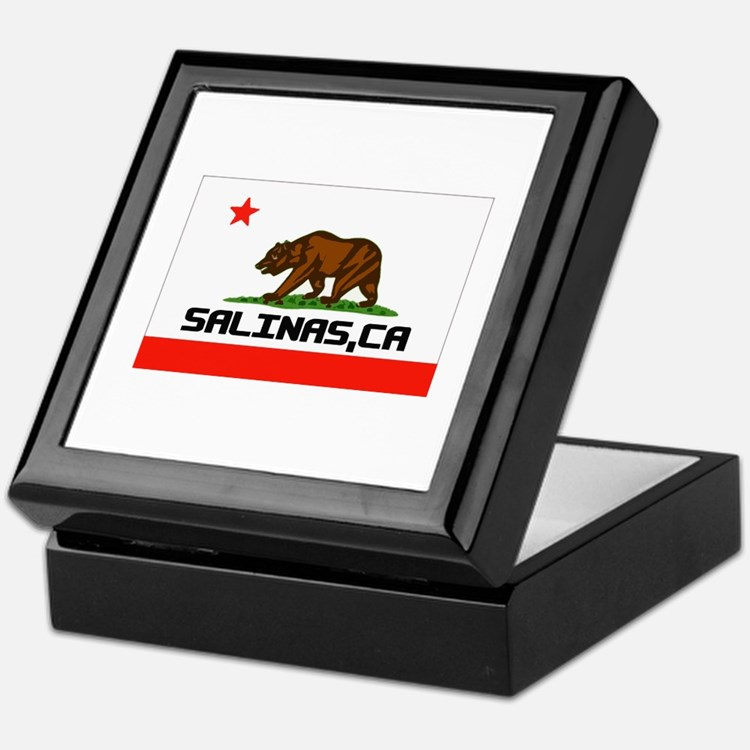 Salinas, Ca -- T-Shirt Keepsake Box