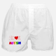 Love my autistic nephew Boxer Shorts