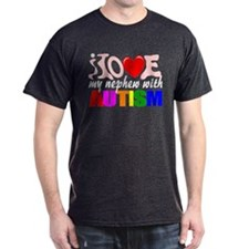 Love my autistic nephew T-Shirt