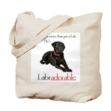 He's Labradorable Tote Bag