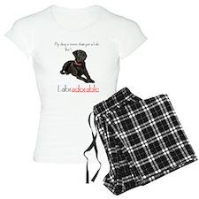 SHE's Labradorable Pajamas