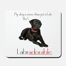 SHE's Labradorable Mousepad