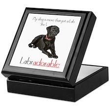 SHE's Labradorable Keepsake Box