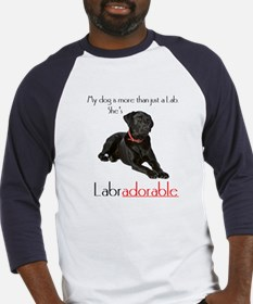 SHE's Labradorable Baseball Jersey