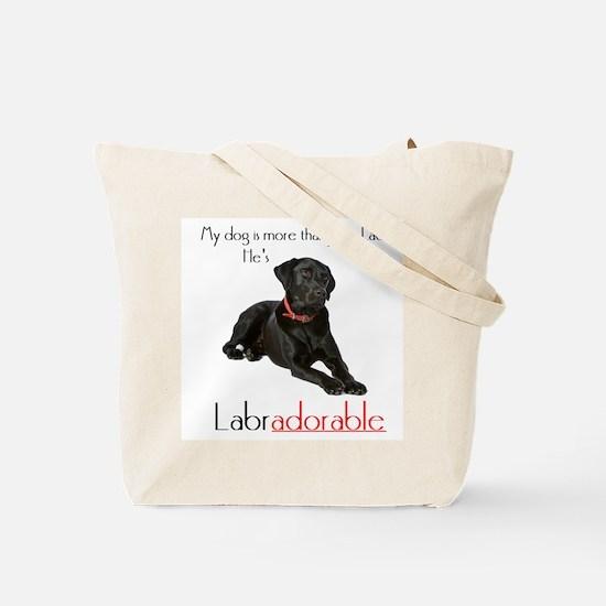 SHE's Labradorable Tote Bag