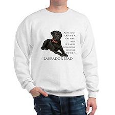 Black Lab Dad Sweatshirt