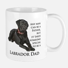 Black Lab Dad Mug