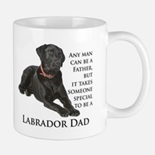 Black Lab Dad Small Small Mug