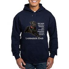 Black Lab Dad Hoodie