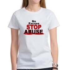 No Excuse Stop Abuse Tee