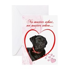 "Black Lab ""Just Whistle"" Valentine"