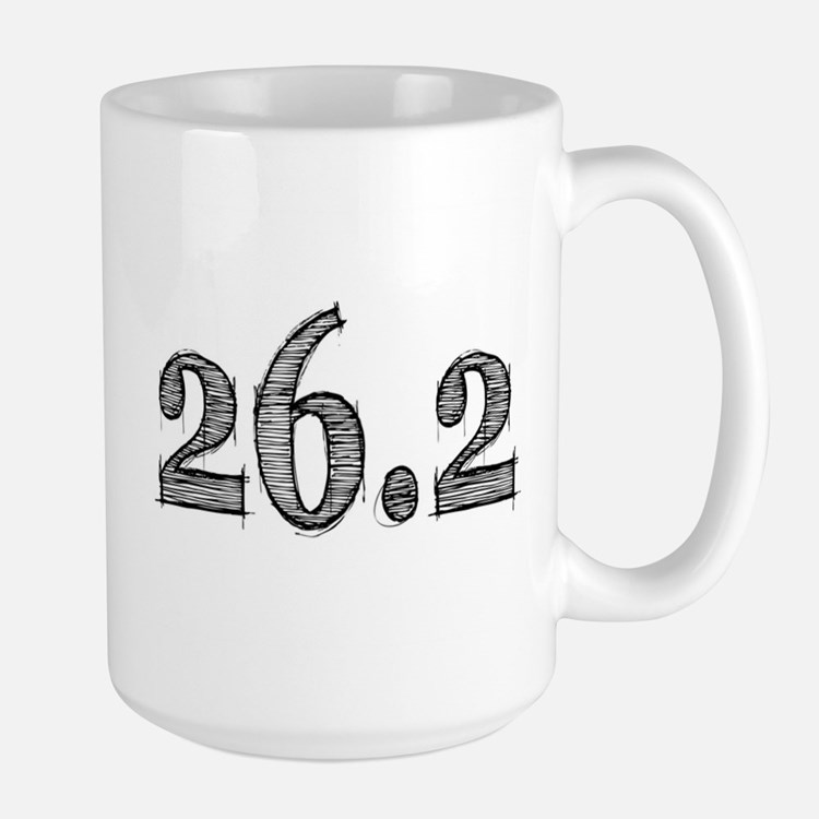 I Am a Marathoner Large Mug