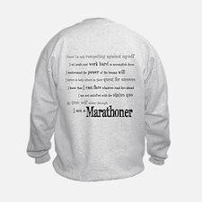 I Am a Marathoner Sweatshirt