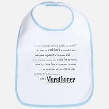 I Am a Marathoner Bib