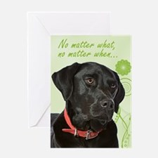 Black Lab Love/Support Card