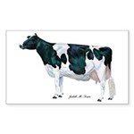Holstein Cow Sticker (Rectangle 50 pk)