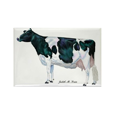 Holstein Cow Rectangle Magnet