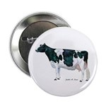 "Holstein Cow 2.25"" Button (10 pack)"