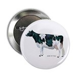 "Holstein Cow 2.25"" Button"