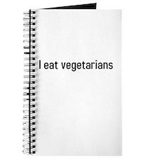 I eat vegetarians Journal