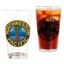 Cute Northwestern Drinking Glass