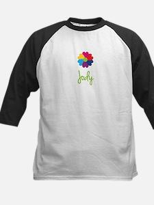 Jody Valentine Flower Kids Baseball Jersey