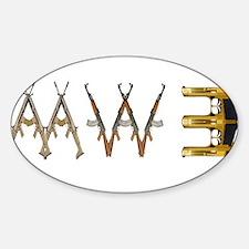 MW3 Guns Decal