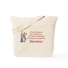 Called Me Grandma Tote Bag