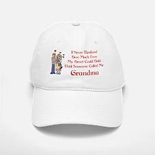 Called Me Grandma Baseball Baseball Cap