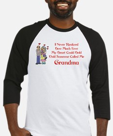Called Me Grandma Baseball Jersey