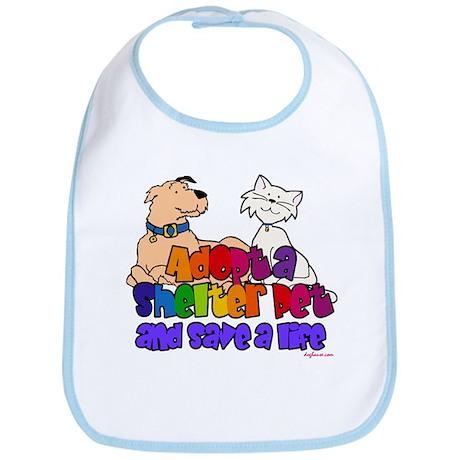 Adopt Shelter Pet Bib