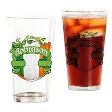 Robinson Shield Drinking Glass
