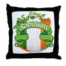 Robinson Shield Throw Pillow