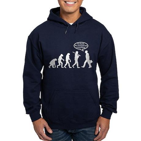 Funny - Evolution FAIL! Hoodie (dark)