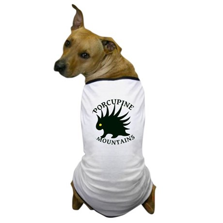 Porcupine Mountains Dog T-Shirt