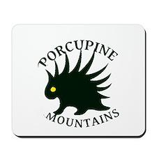 Porcupine Mountains Mousepad