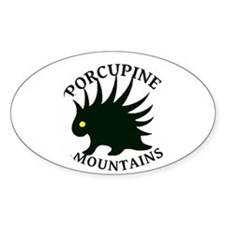 Porcupine Mountains Decal
