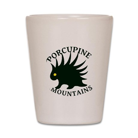 Porcupine Mountains Shot Glass