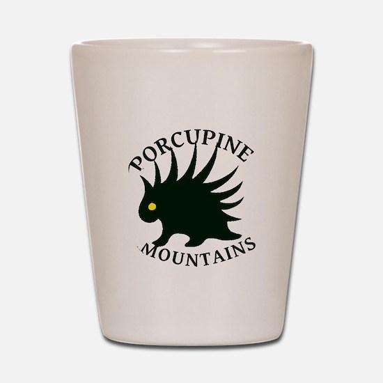 Porcupine Mountains Shot Glass