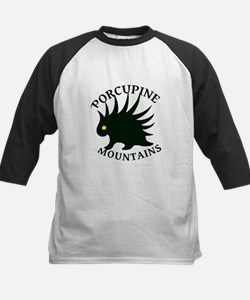 Porcupine Mountains Kids Baseball Jersey