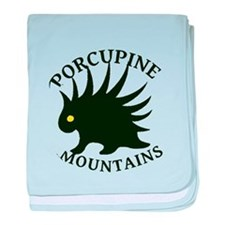 Porcupine Mountains baby blanket