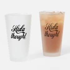Hula thought by DanceBay.com Drinking Glass