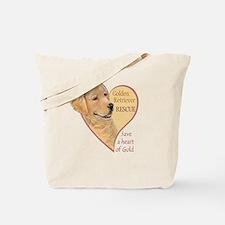 Golden Retriever RESCUE Tote Bag