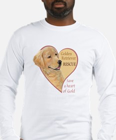 Golden Retriever RESCUE Long Sleeve T-Shirt