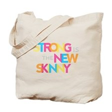 Strong is the New Skinny - Color Merge Tote Bag
