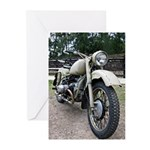 Vintage Motorcycle Greeting Cards (Pk of 10)